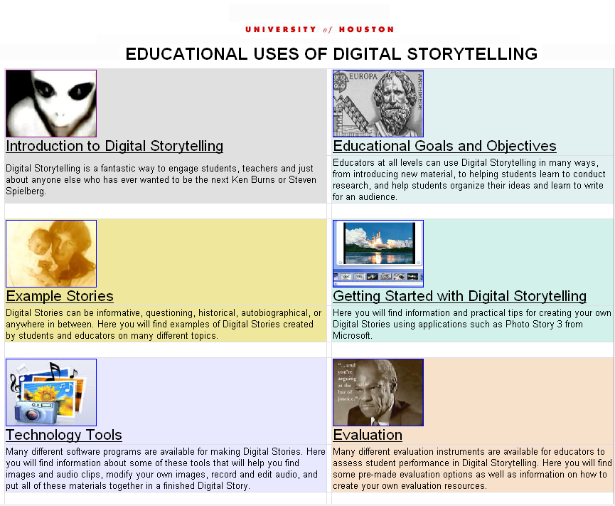 storytelling stories examples